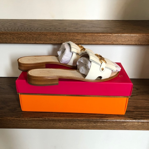 Authentic Kate Spade Leather Sandals, 10